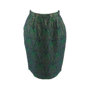 Evan-Picone green vintage skirt 12P M